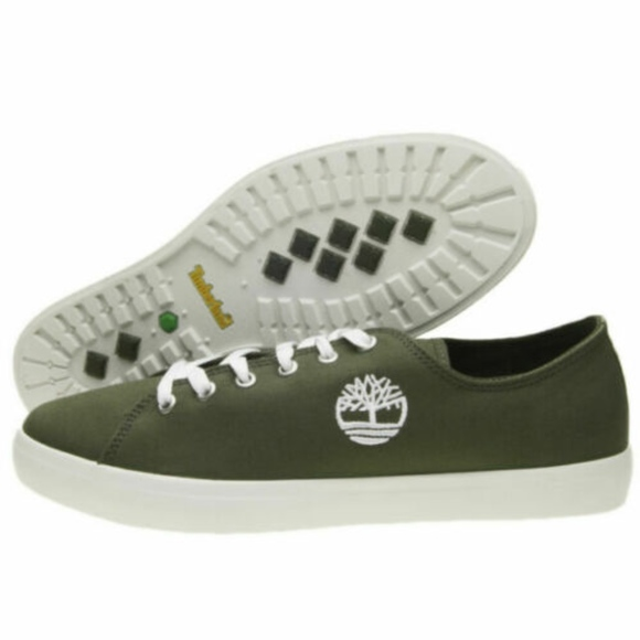 Timberland Union Wharf Lace Oxford Dark Green Mens Low